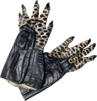 Latex Adult Predator Hands - Alien Vs. Predator Kostüme
