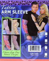 Adult Tattoo Sleeves - Adult Kostüme