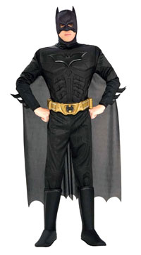Deluxe Adult Batman Kostüm - Batman Kostüme