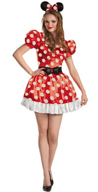 Adult Minnie Maus Kleid