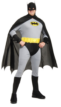 Plus Size Batman Kostüm - Batman Kostüme