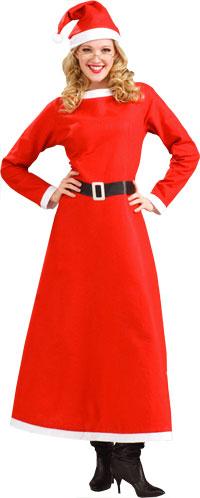 mrs santa costume weihnachten kost me kostuemwahnsinn. Black Bedroom Furniture Sets. Home Design Ideas