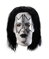 Deluxe KISS The Spaceman Overhead-Mask - KISS Kostüme