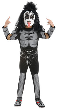KISS Gene Simmons The Demon Kinder Kostüm - KISS Kostüme