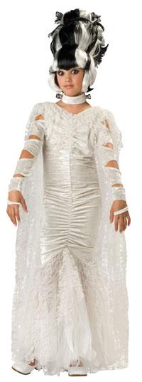 Sexy Braut von Frankenstein Kostüm