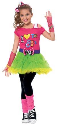 80 S Rock Star Madchen Kostum Kinder Kostum Kostuemwahnsinn De