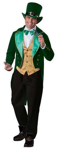 Lucky Leprechaun Adult Costumes - irische Kostüme