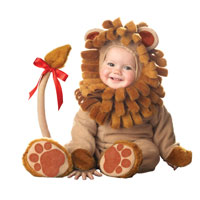 Little Baby Lion Costume - Baby Costumes