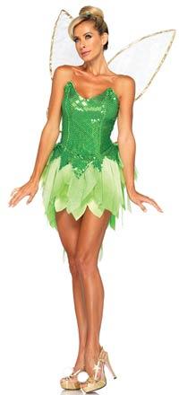 pixie dust tinkerbell kostum disney kostume