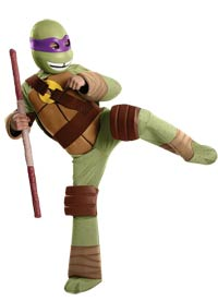 Deluxe Donatello Kinder Kostüm - Teenage Mutant Ninja Turtles Kostüme