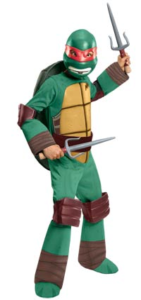 Deluxe Raphael Kinder Kostüm - Teenage Mutant Ninja Turtles Kostüme