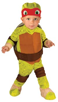 Baby Raphael Costume - Teenage Mutant Ninja Turtles Kostüme
