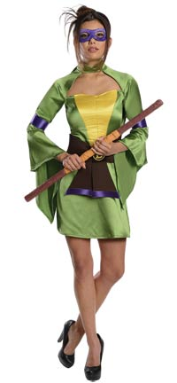 Geisha Donatello Sexy Kostüm - Teenage Mutant Ninja Turtles Kostüme